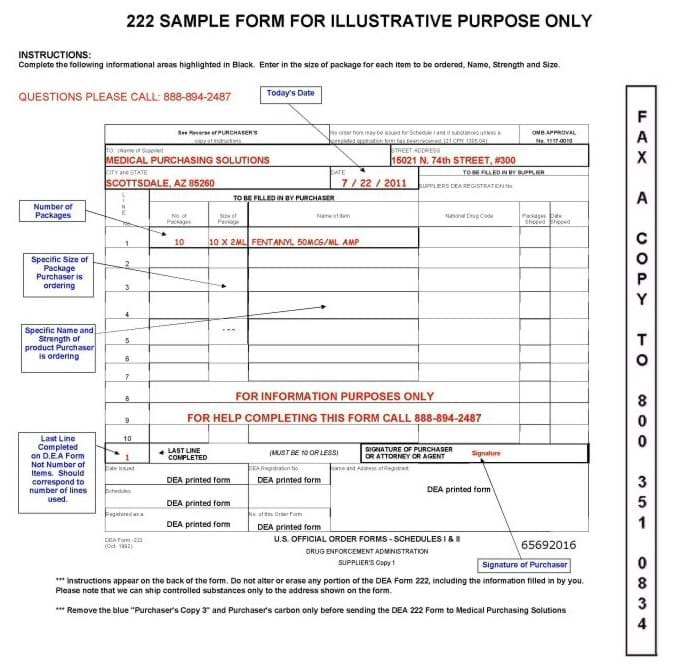 222_Sample Example Of Filled In Dea Form on