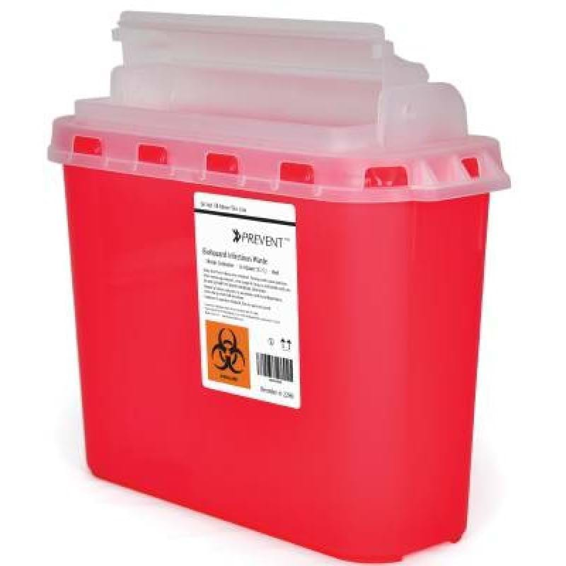 SHARPS CONTAINER 5.4QRT 11HX12WX4.5D MPS PREFERRED